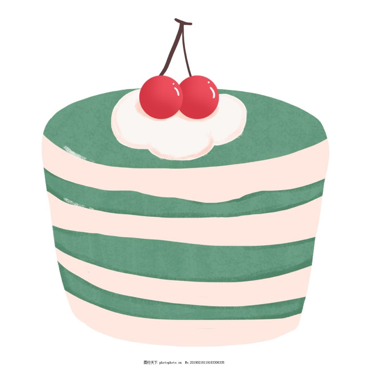 可爱抹茶蛋糕v蛋糕素材图片e52660平面设计机器图片
