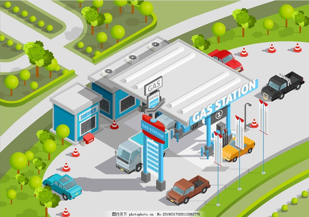 加油站规划