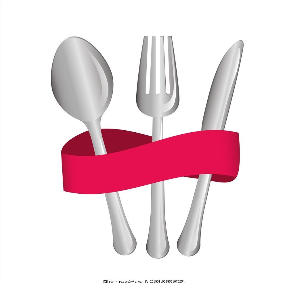 刀叉,刀子,叉子,餐具,西餐餐具,餐盘,餐刀