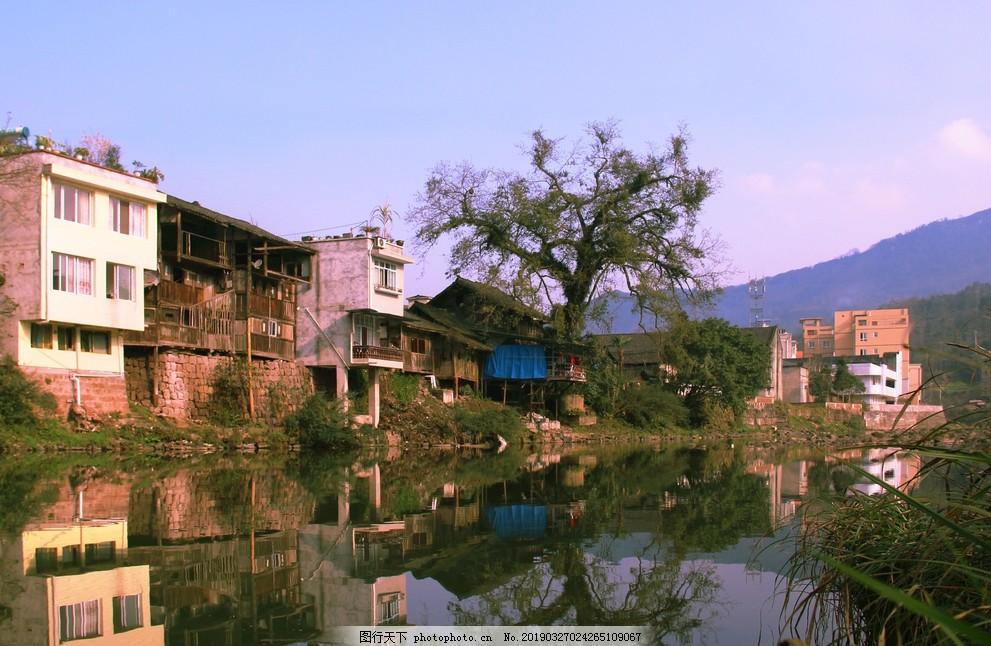 华头古镇,湖,建筑,生态,度假,摄影,自然景观